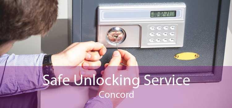 Safe Unlocking Service Concord